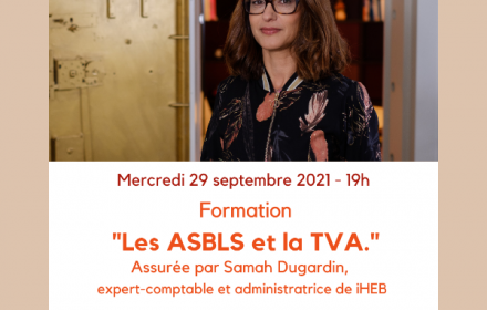 Formation : Les ASBLs et la TVA
