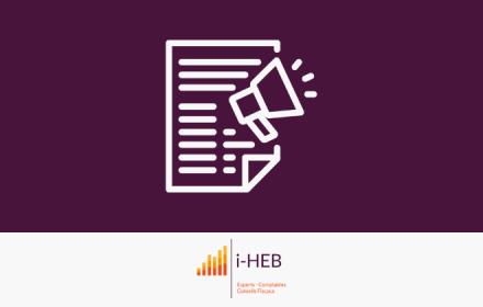 Bienvenue sur le site internet d'iHEB - Cabinet d'expertise comptable à Bruxelles